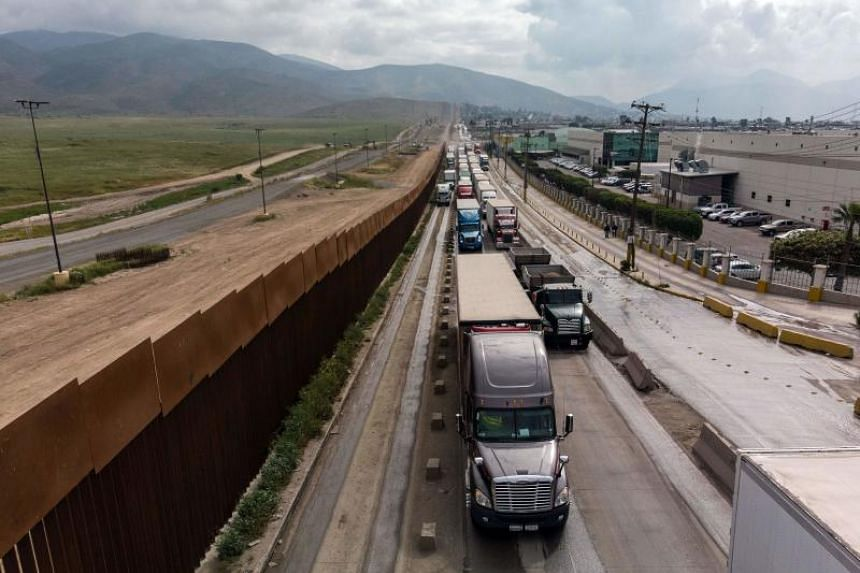 """A 5 per cent tariff on all Mexican goods is expected to take effect on June 10 because """"the president is deadly serious about fixing the situation at the southern border."""""""