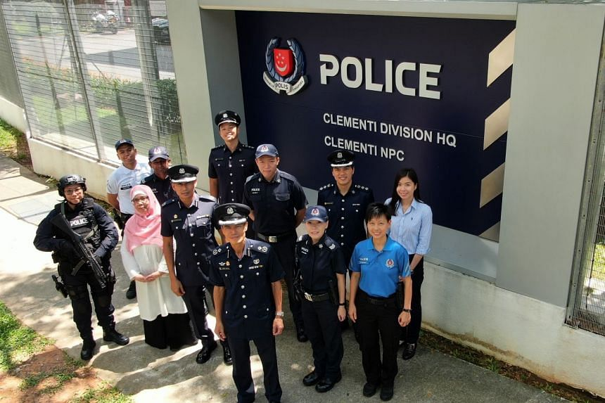 Clementi Police Division was awarded the Best Land Division award at the Police Day Parade 2019, held at the Home Team Academy on June 3, 2019.