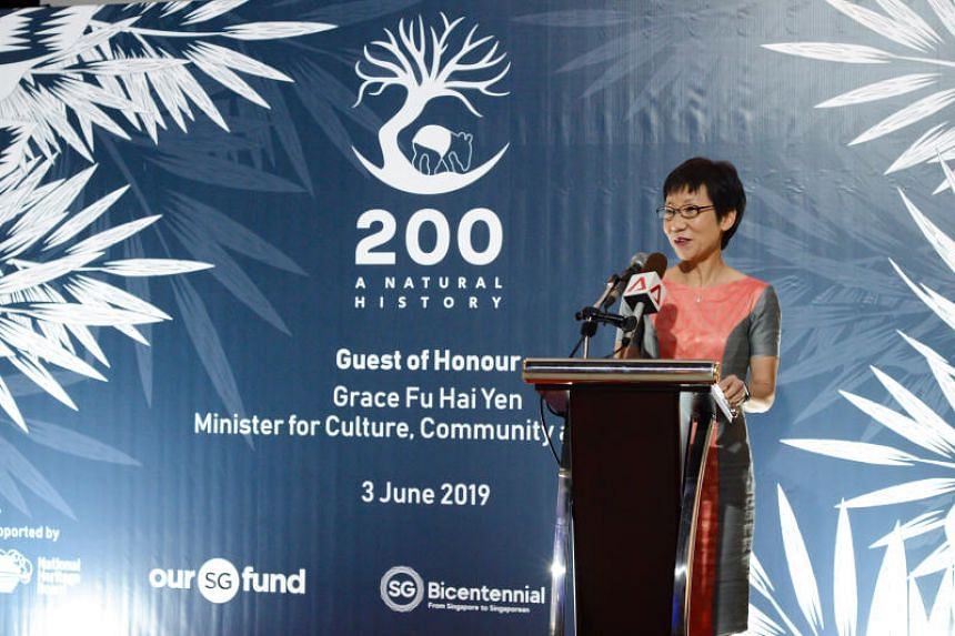 200: A Natural History was opened by guest of honour Minister for Culture, Community and Youth Grace Fu on June 3, 2019.