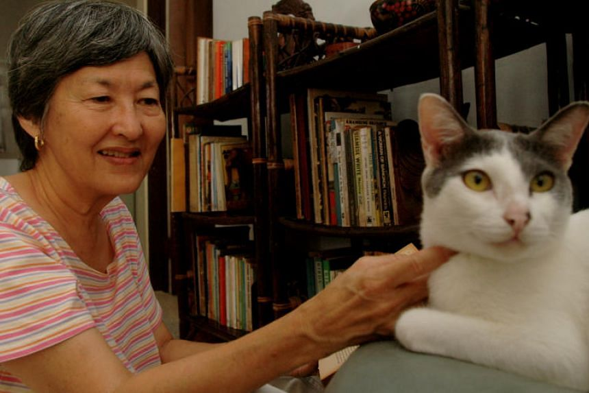 Dr Myrna Braga-Blake in 2006. She died at the age of 83 on May 31, 2019.