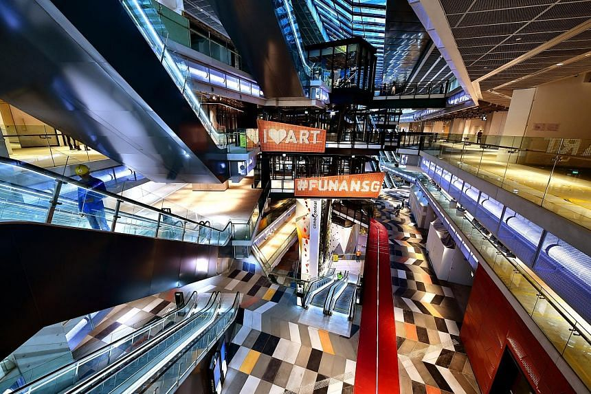 Funan mall will open its doors to shoppers two months ahead of schedule after a three-year redevelopment. The Funan integrated development comprises a shopping mall, two office blocks and lyf Funan Singapore - the Singapore flagship of The Ascott Lim