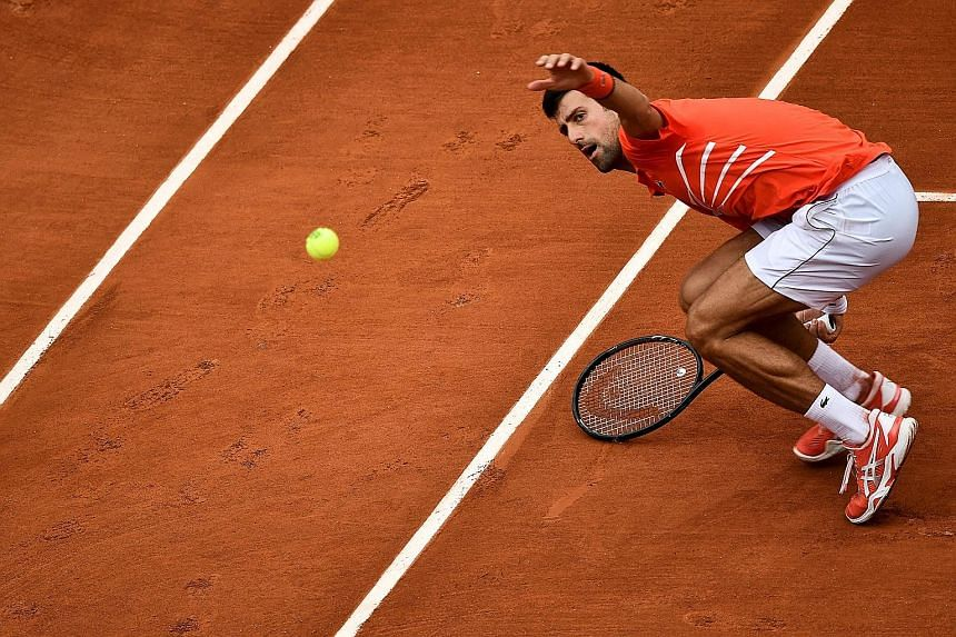 Novak Djokovic has yet to drop a set at Roland Garros this year, and is in a record 10th successive French Open quarter-final after beating Germany's Jan-Lennard Struff 6-3, 6-2, 6-2 yesterday.