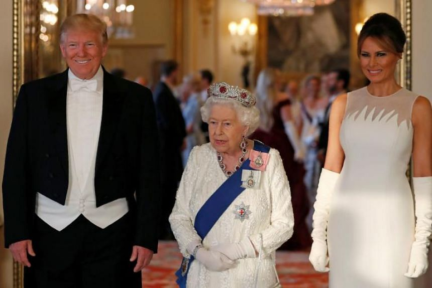 While this is the first time Donald Trump and his wife Melania have experienced a royal British banquet, the queen is used to such occasions: it is the 113th time Queen Elizabeth has hosted a state visit.