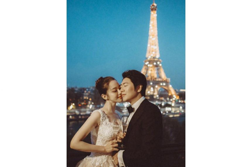 Lang Lang married Gina Alice Redlinger at the Palace of Versailles in France on June 2, 2019.