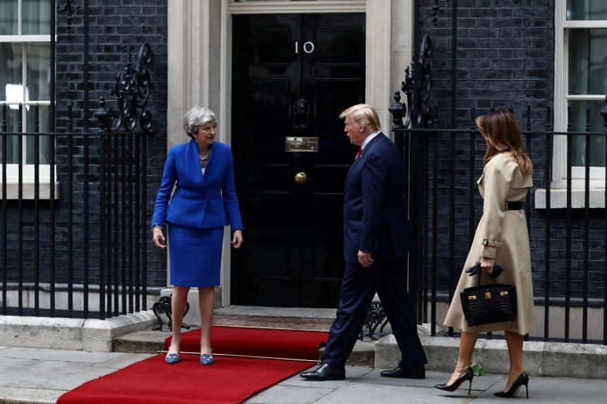 US President Donald Trump has talked up a trade pact with a post-Brexit Britain from the start of his presidency, often putting British Prime Minister Theresa May in a tricky spot.