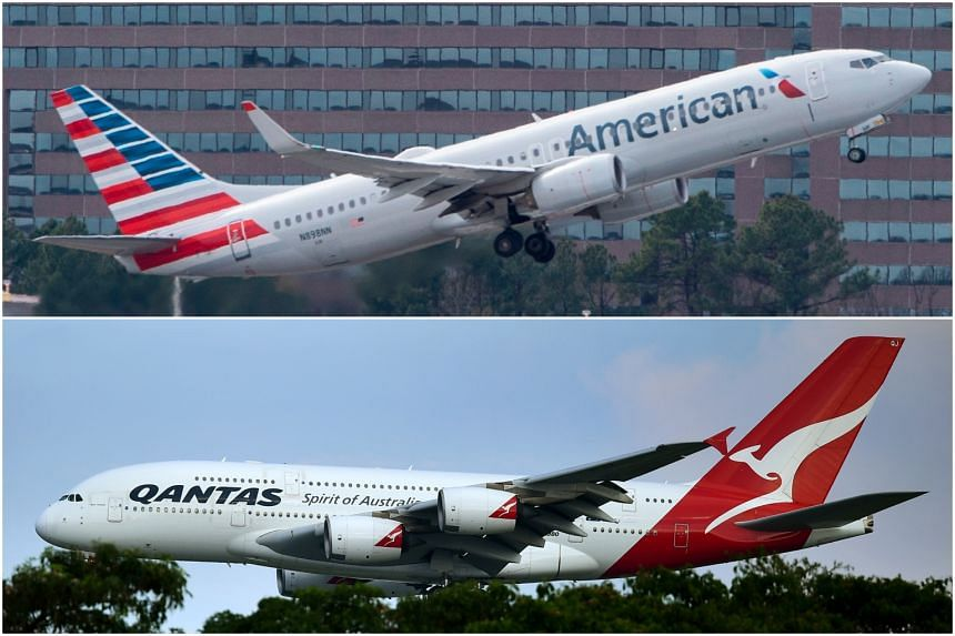The deal allows American Airlines Group Inc and Qantas Airways Ltd to coordinate their planning, pricing, sales and frequent flyer programmes.