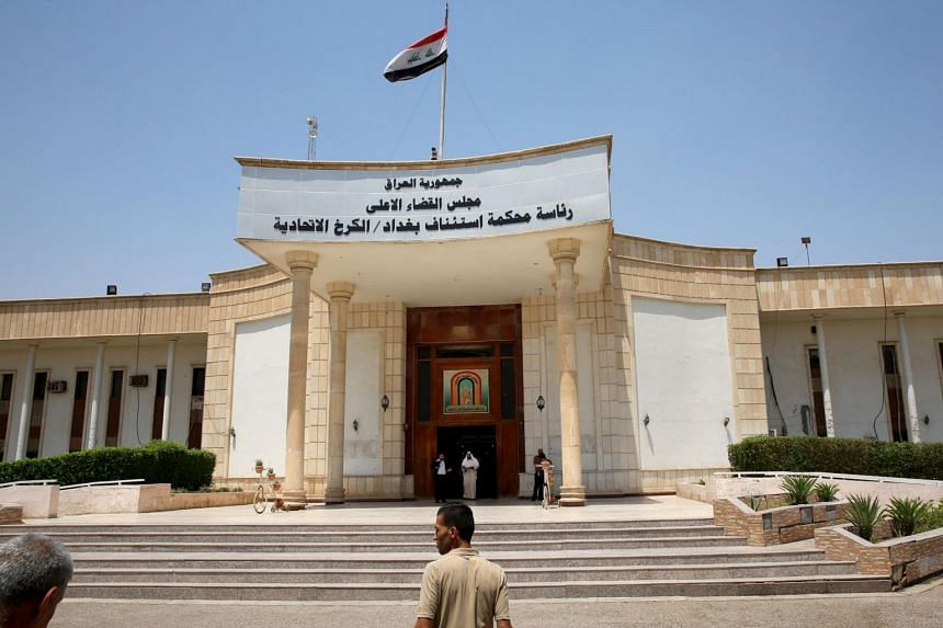 The Iraqi Criminal Court in Baghdad's Karkh district, where the trials for 11 French citizens and one French resident were held.