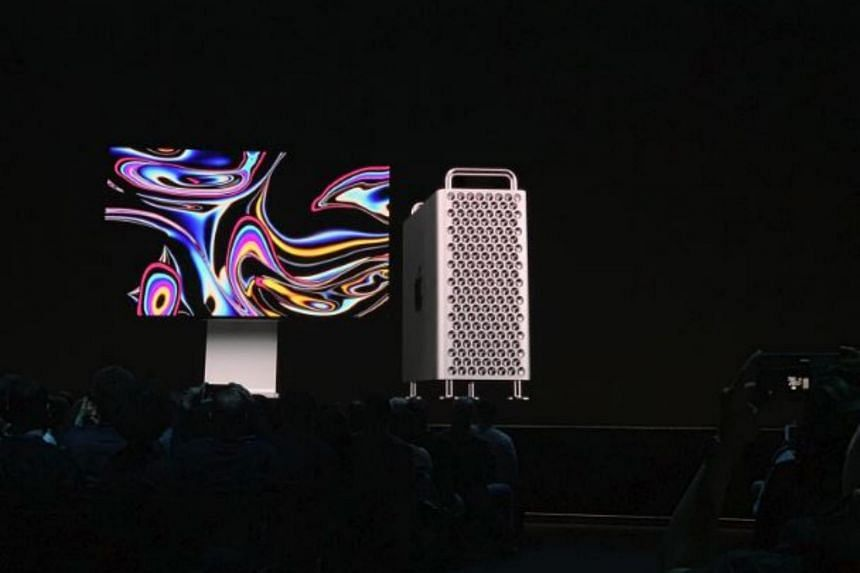 Social media users compared the new Mac Pro to a cheese grater.