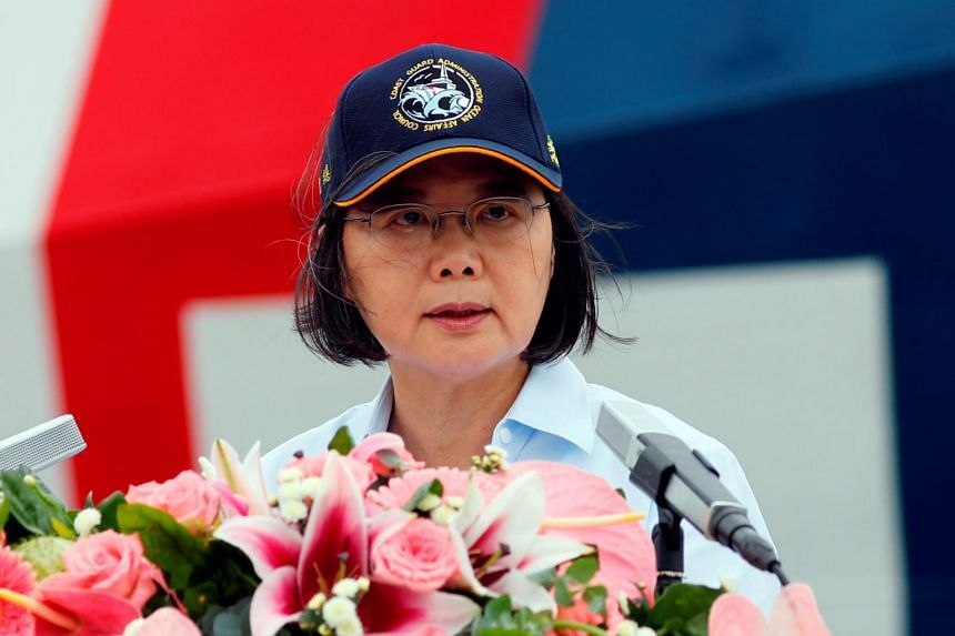 """Taiwan President Tsai Ing-wen also expressed concern for China's """"erosion of freedom"""" in Hong Kong, which was returned to Chinese rule in 1997 under a """"one country, two systems"""" formula."""