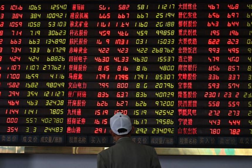 Losses across Asian equity markets followed falls on Wall Street overnight that saw the Nasdaq drop into correction territory.