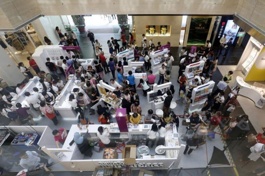 A SkillsFuture roadshow by the Workforce Development Agency. A crime syndicate used nine Singapore-registered firms in perpetrating a scam that targeted SkillsFuture Singapore.