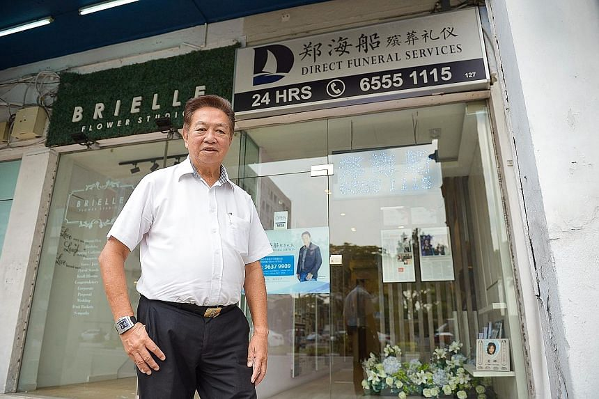 Mr Roland Tay will now own 100 per cent of the two Lavender Street shophouses. This ends a protracted court battle with his former wife, Madam Sally Ho (below), over the couple's assets.