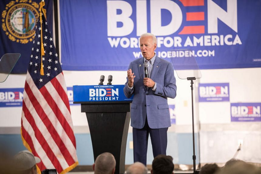 Mr Joe Biden unveiled his plan after weeks of pressure from rivals and green activists who said he was not taking global warming seriously enough and would rely too heavily on Obama-era ideas.