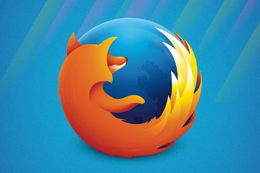 The Firefox logo in a photo from Mozilla's Facebook page.