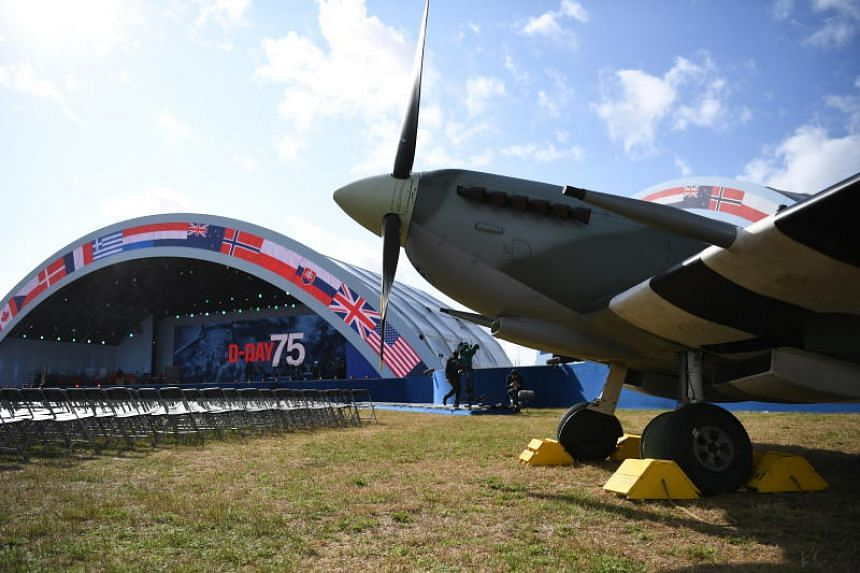 The commemorations will feature an hour-long performance recounting the story of D-Day and a flypast by historic and military aircraft.