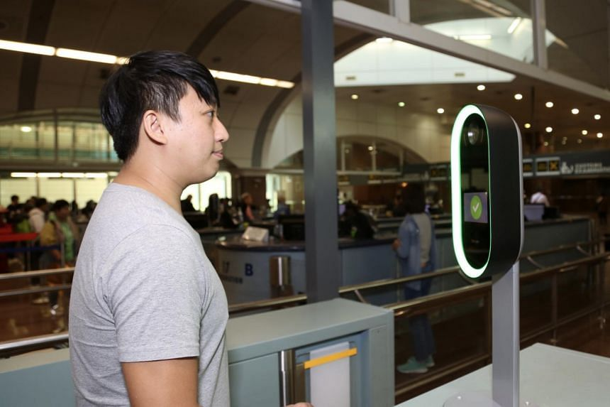 The Immigration and Checkpoints Authority has started to scan travellers' iris images as an alternate biometric identification.
