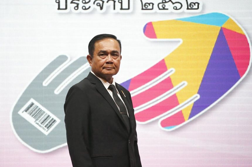Retired general Prayut Chan-o-cha has been nominated to stay in power by a coalition led by the pro-army Palang Pracharat Party, and is considered to have a heavy advantage.