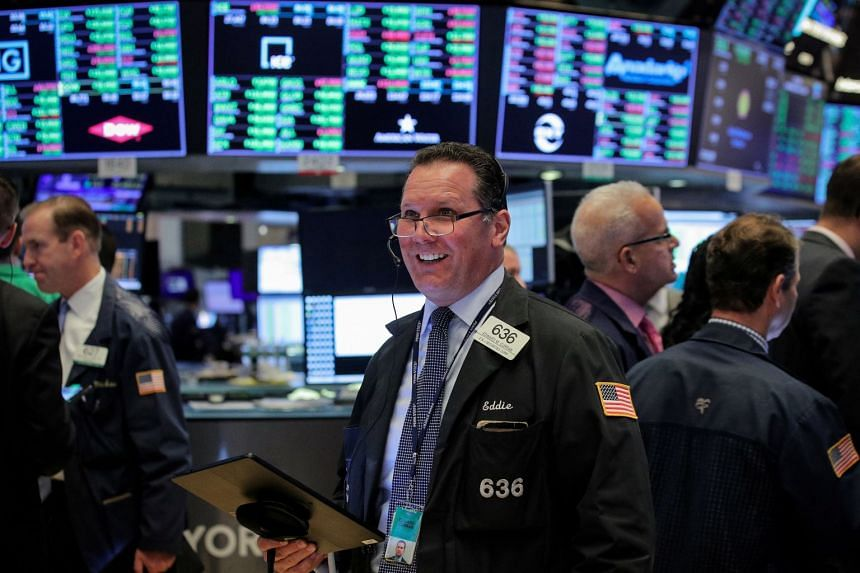 Traders work on the floor at the New York Stock Exchange, June 5, 2019.