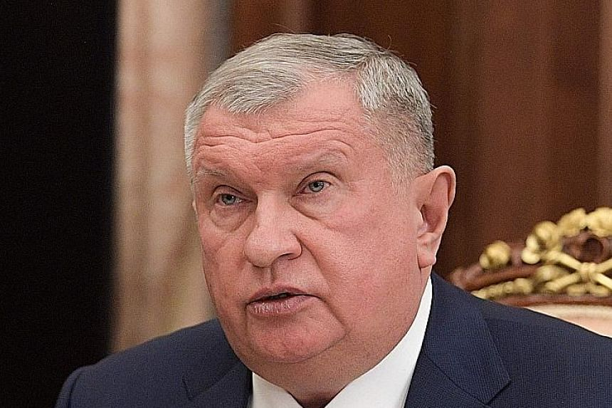 Mr Igor Sechin, head of Russian oil giant Rosneft, said on Tuesday that Russia should pump at will.