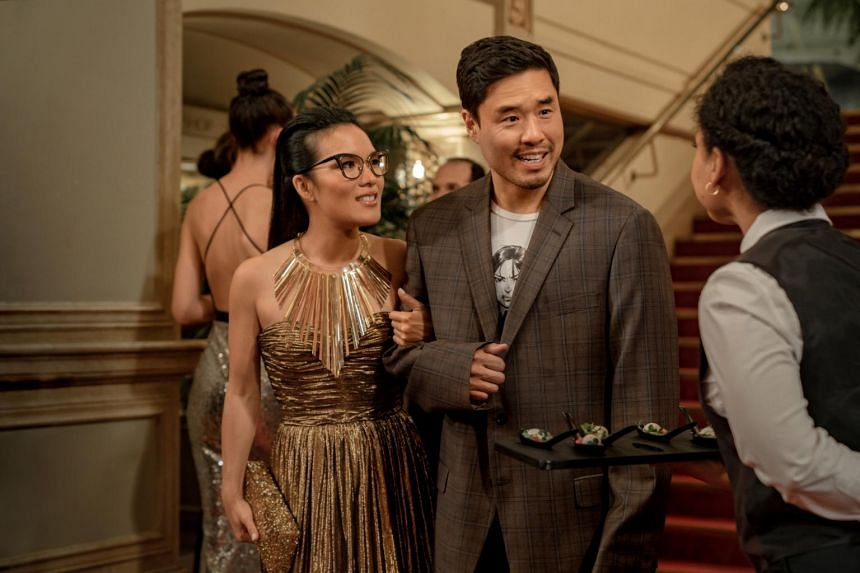 Ali Wong and Randall Park star in the Netflix movie Always Be My Maybe.
