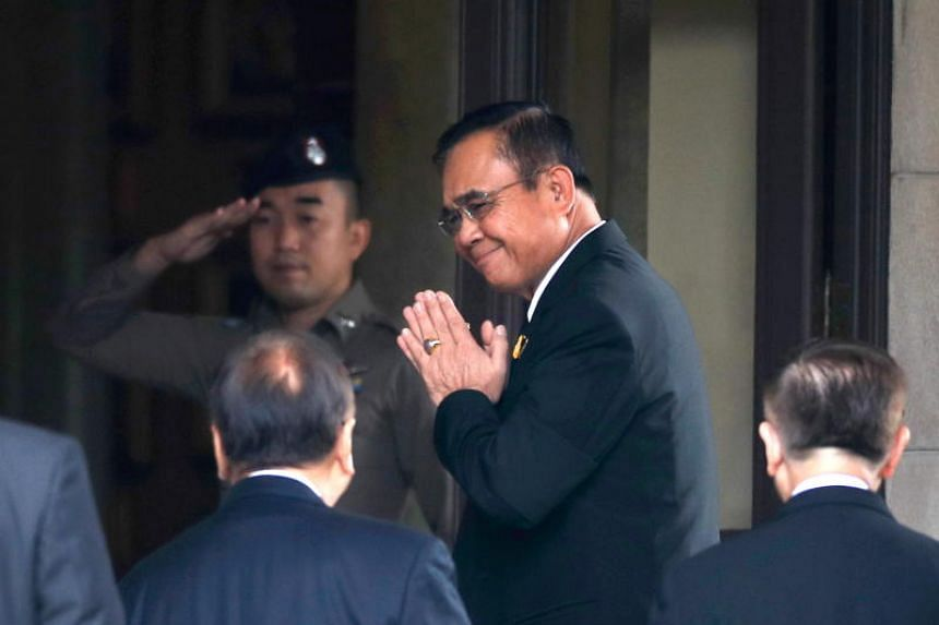 Thailand's junta chief Prayut Chan-o-cha will lead an unwieldy 19-party coalition government that has a slim majority in the lower House of Representatives, but could be vulnerable to defections and infighting.