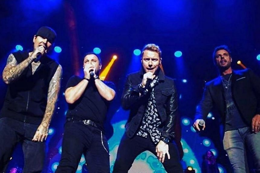 Boyzone's upcoming show is part of their global farewell tour, which also saw them play the Singapore Indoor Stadium in 2018.