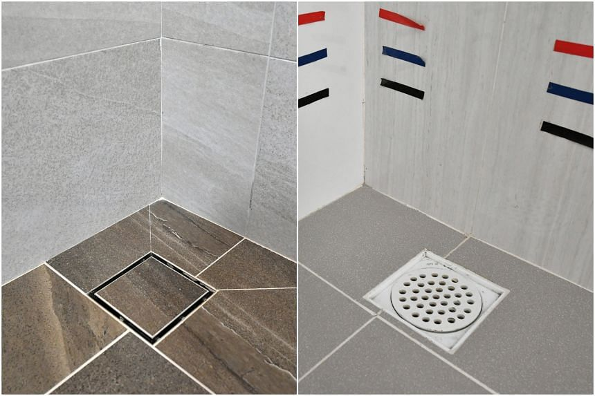 Concealed floor traps will replace plastic floor traps in bathrooms, giving bathrooms a more sophisticated finish.