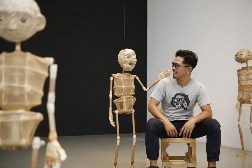 Indonesian artist Iwan Effendi is holding his second solo show at Mizuma Gallery.