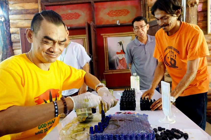 Volunteers preparing medical cannabis oil at a seminar in Nakhon Ratchasima. Much remains to be understood about the long-term effects of ingesting marijuana, and what illnesses it can really cure.