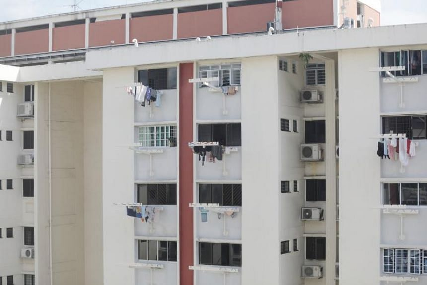 The girl died after falling from a kitchen window on the 11th floor of Block 637 Ang Mo Kio Avenue 6 on June 4, 2019.