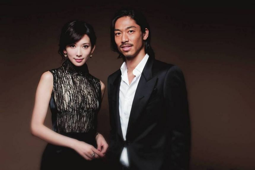 Lin Chi-ling and Akira met eight years ago during the Japanese stage play production of Red Cliff.