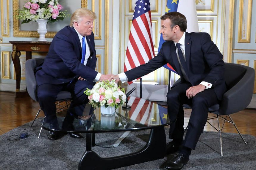 """United States President Donald Trump told French President Emmanuel Macron on June 6 that their relationship had been """"really terrific""""."""