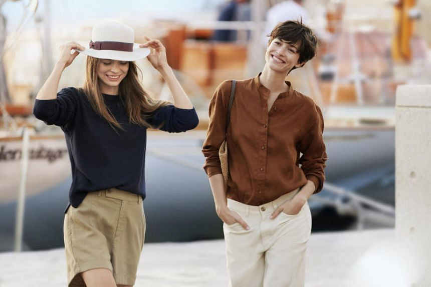 Uniqlo's Spring/Summer collection by Ines de la Fressange is inspired by the south of France and features easy-to-match basics in comfortable French linen.