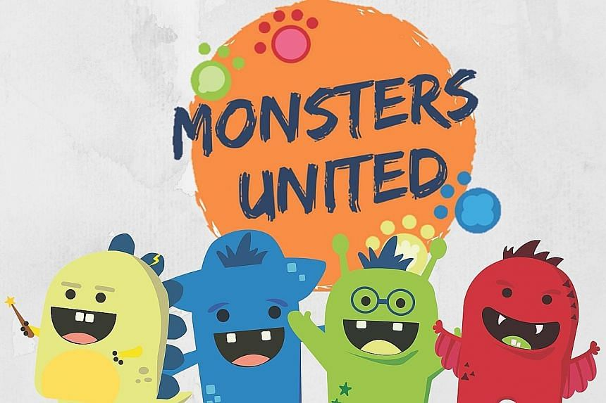 National Library Board's Monsters United Team