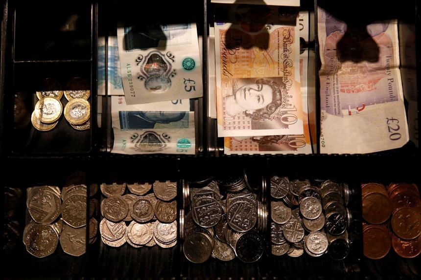 The pound has slumped 3 per cent in the past month to trade around US$1.27 after a strong start to the year, and saw a record string of losses against the euro in May.