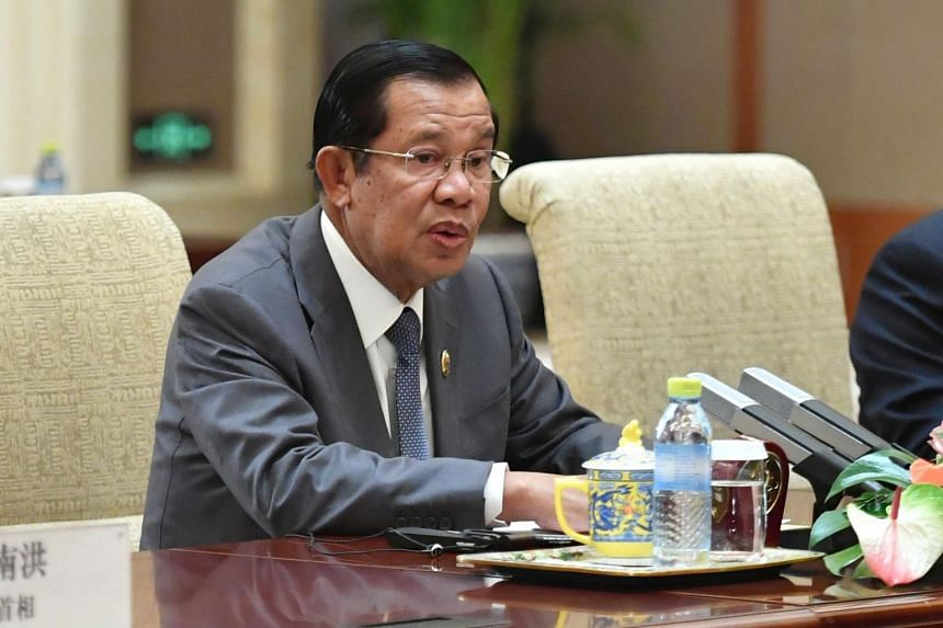 In a Facebook post on June 6, 2019, Cambodian Prime Minister Hun Sen (above) said he deeply regretted Singapore PM Lee Hsien Loong's remarks.