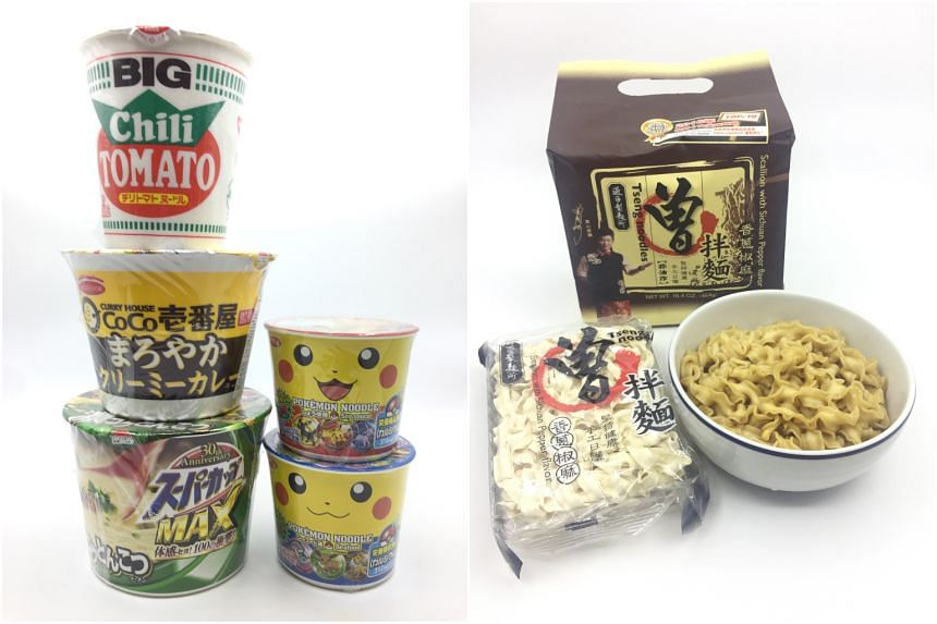 These days, new flavours and types of instant noodles are constantly popping up in supermarkets and speciality stores.
