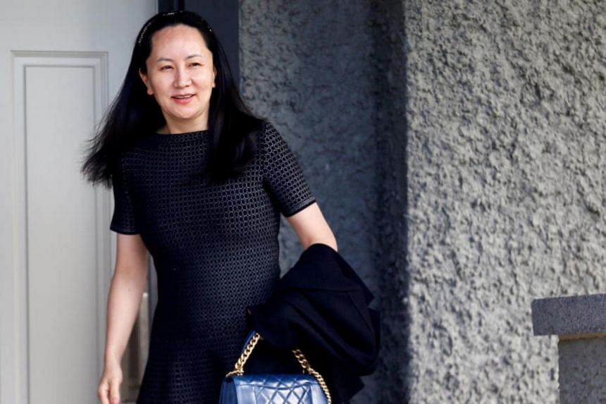 The US accuses Huawei's chief financial officer Meng Wanzhou (above) of tricking banks into conducting transactions for Huawei that may have violated US sanctions on Iran.