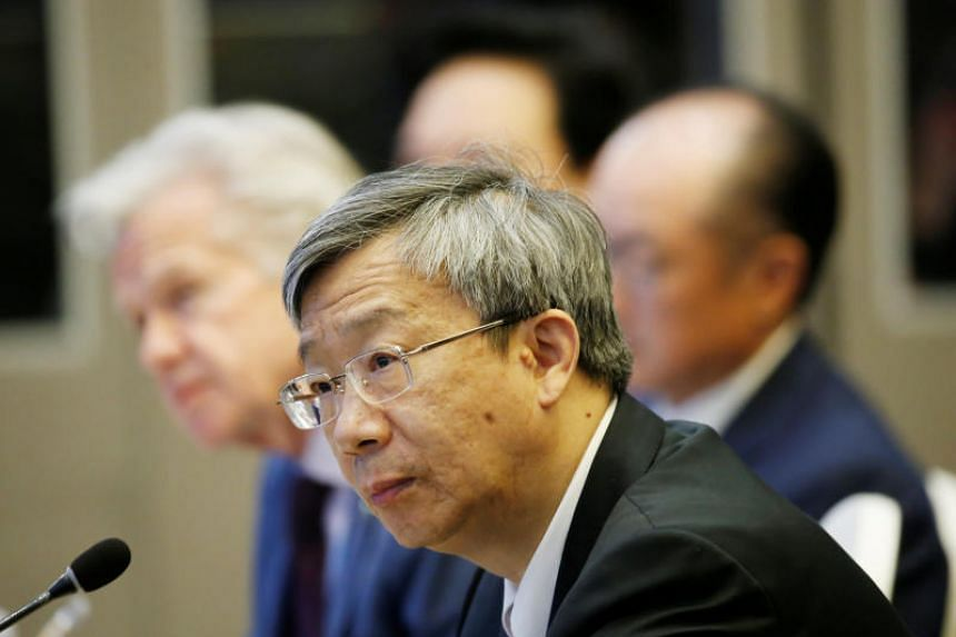 People's Bank of China Governor Yi Gang (above) will meet US Treasury Secretary Steven Mnuchin during the Group of 20 gathering of finance ministers and central bank governors in Japan.