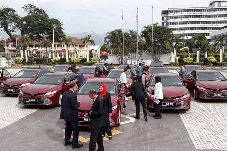 The purchases were made public even as the federal government has continued to say that it is struggling under a heavy debt burden of RM1 trillion left behind by the previous government.