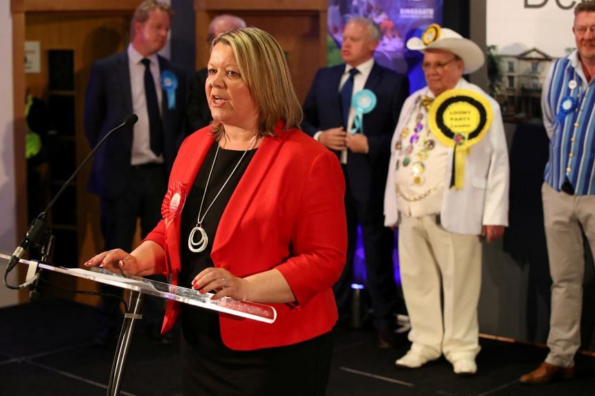 Lisa Forbes took 30.9 per cent of the vote in the eastern English city, beating out candidates for the Brexit Party on 28.9 per cent and for Prime Minister Theresa May's ruling Conservatives on 21.4 per cent.