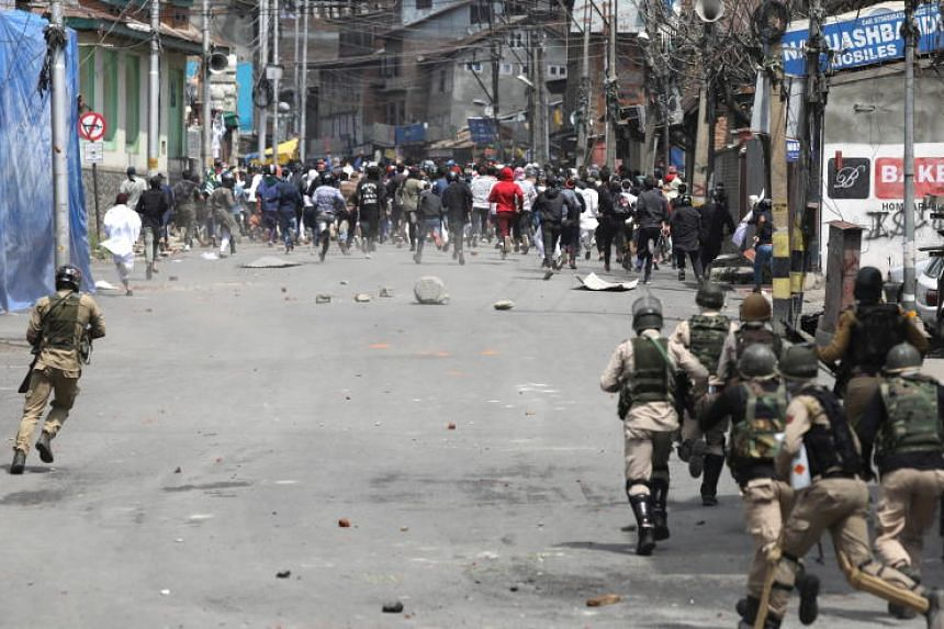 The fighting in Kashmir has left tens of thousands dead, mostly civilians.