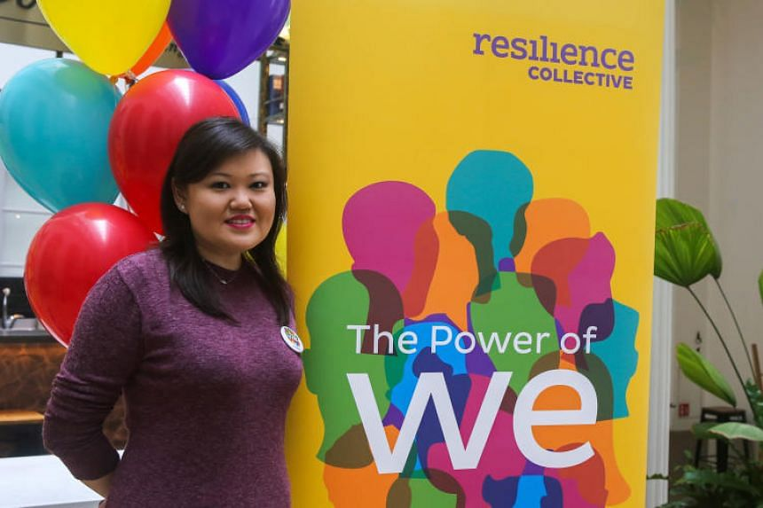 Ms Susan Ong, 40, used to suffer major depressive disorder and anxiety, but now she is part of a new initiative that uses peer learning and discussion to help others with mental health conditions.