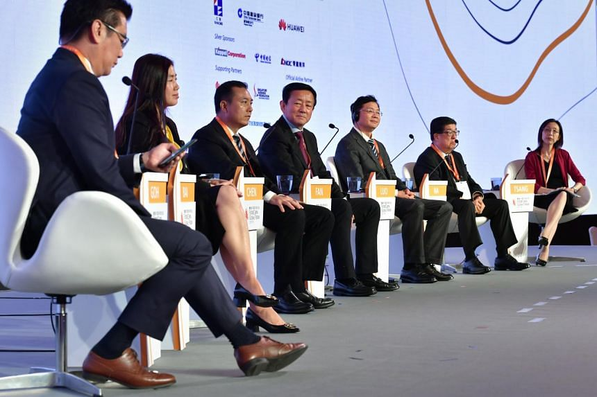 Panellists at the FutureChina Global Forum at Marina Bay Sands on Friday (June 7) discussed China's plan to grow the Pearl River Delta area into a global technology and innovation hub.