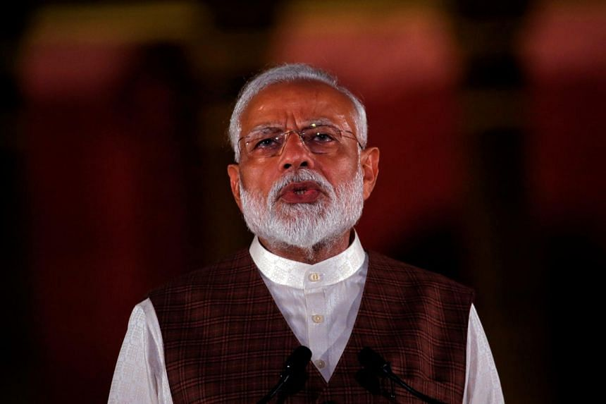 India's Prime Minister Narendra Modi is making the point that the country's neighbourhood is just as important in his second term.