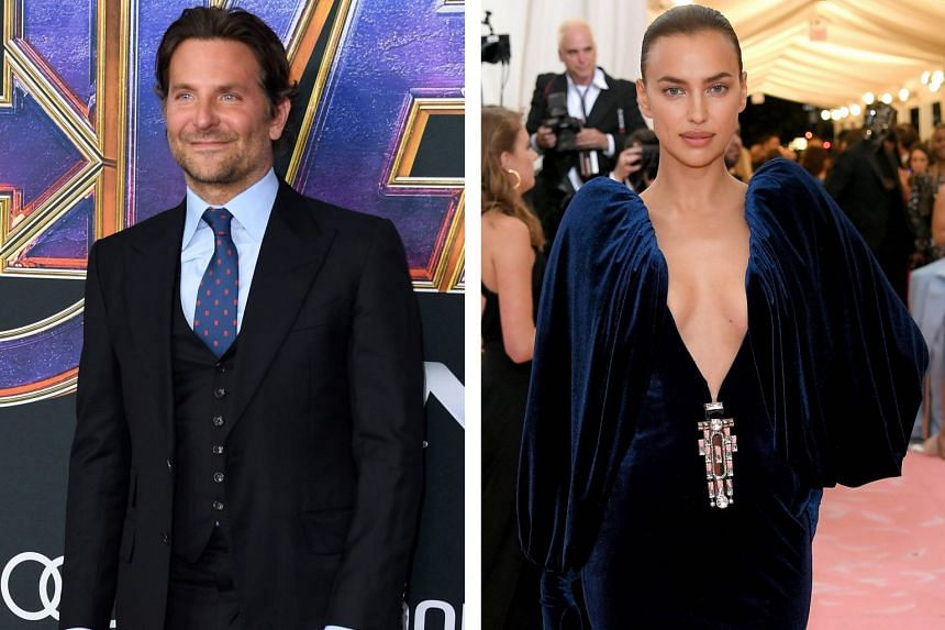 Actor Bradley Cooper and supermodel Irina Shayk (both above) dated for four years.
