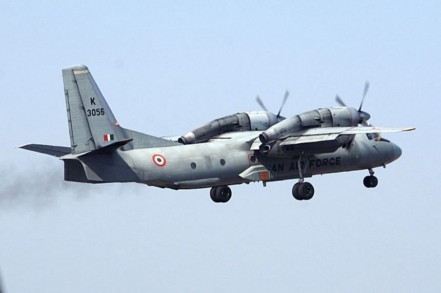 An Indian Air Force transport aircraft takes-off in Jammu in a file photo.
