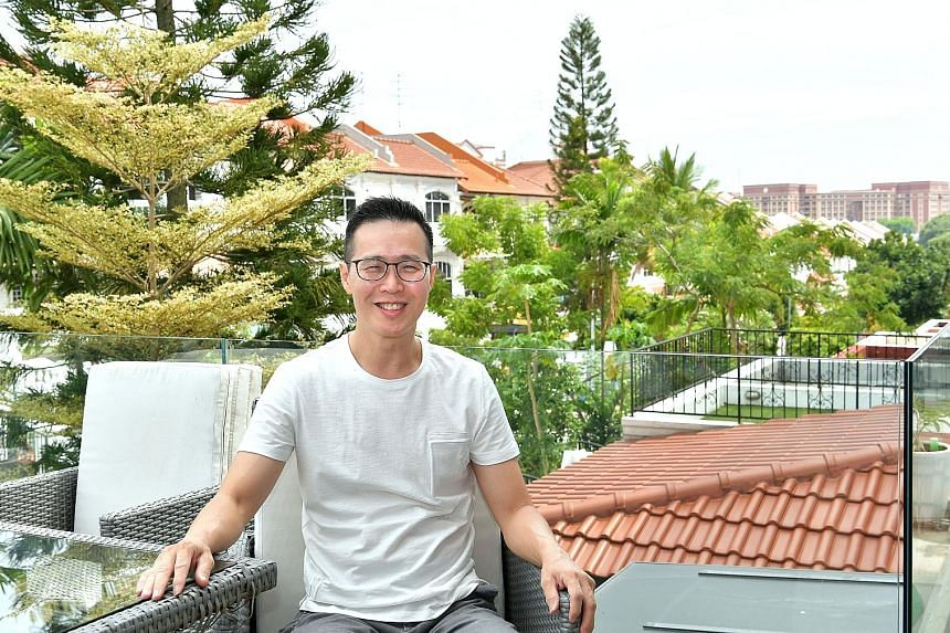 Mr Lim says his dream home is a freehold semi-detached house that is near nature and by the sea, with a big yard for gardening and a spacious corner.