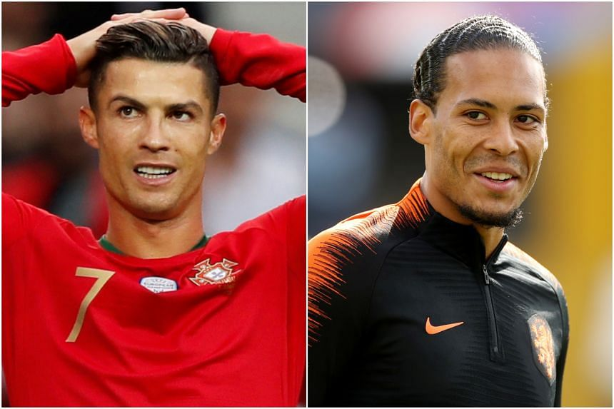 Cristiano Ronaldo's (left) Portugal will clash with Virgil van Dijk's Netherlands for the inaugural Nations League title on June 9, 2019.