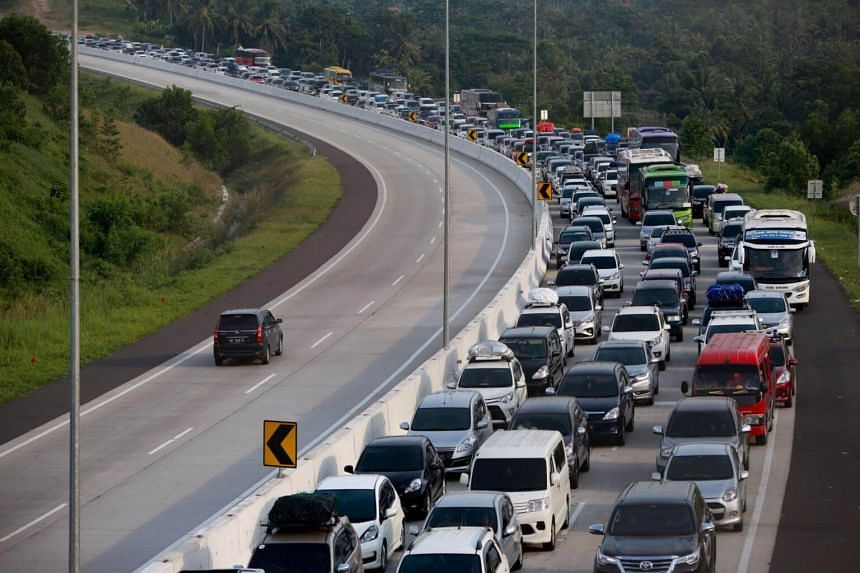 Around 964km of the Trans-Java highway has been completed as of April, helping Indonesians make smoother journeys as they returned to their hometowns for Hari Raya last week.